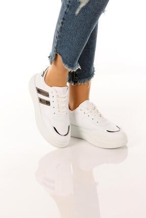 SOBY SHOES Kadın Günlük Rahat Ve Şık Bağcıklı Spor Ayakkabı Sneaker Soby11020031 1
