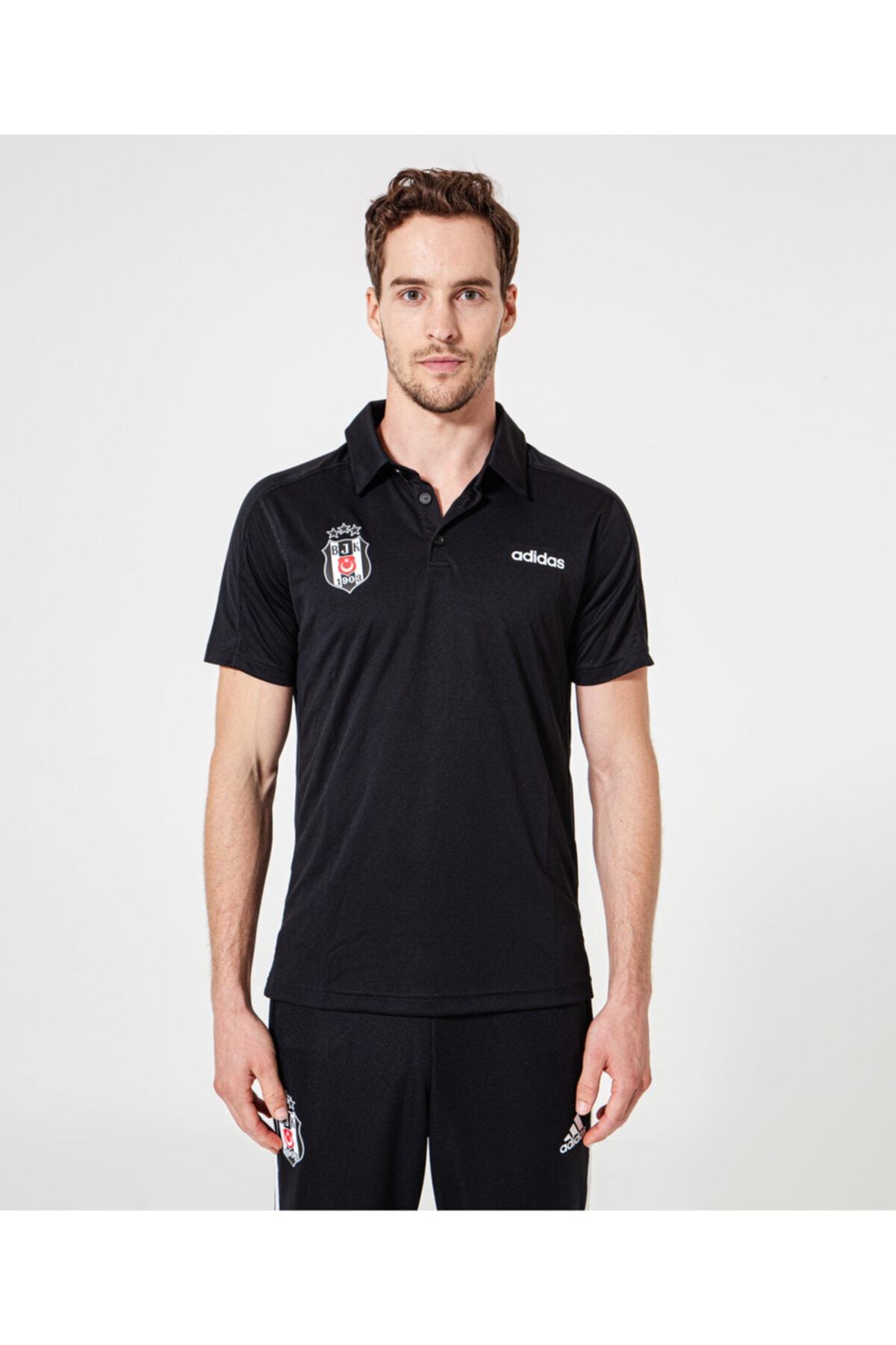 Beşiktaş D2M CCOOL POLO Siyah Erkek Kısa Kol T-Shirt 101117588