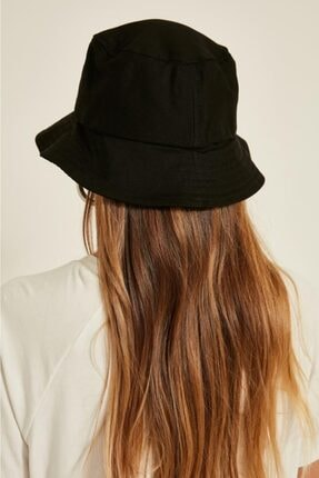 Y-London Kadın Siyah Bucket Şapka 13372 2