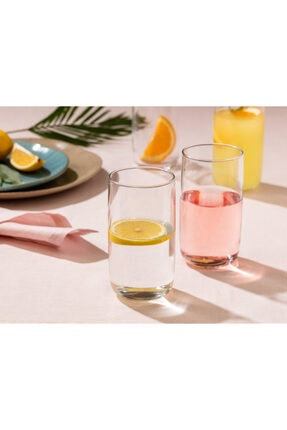 Madame Coco Musette 4'lü Meşrubat Bardağı Seti 365 ml 0