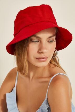 Y-London 13372 Kırmızı Bucket Şapka 0