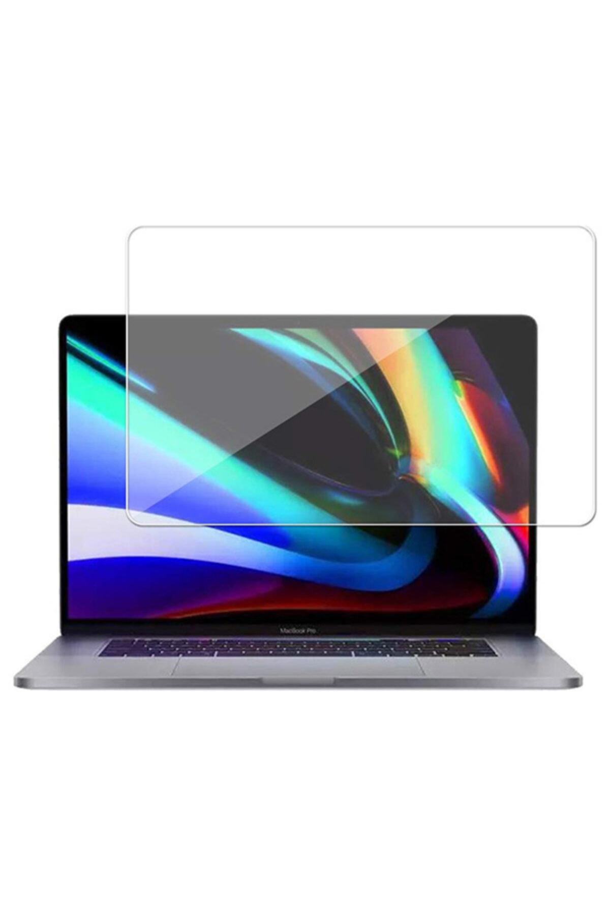 "Ally Mobile Macbook Pro Uyumlu 16"" A2141 A2142 Tempered Cam Ekran Koruyucu"