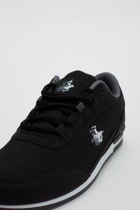Muggo Erkek Siyah Bağcıklı Sneaker Mgbarney01 4