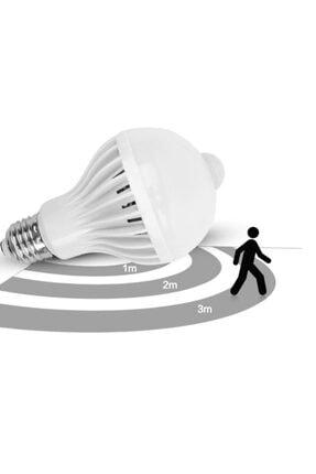 ALKILIÇ Led Hareket Sensörlü 9w Beyaz Işık Ampul Alk-9wsensörlüampul 3