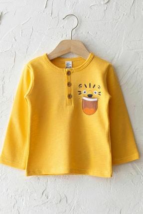 LC Waikiki Erkek Bebek Orta Sarı Gau T-Shirt 0