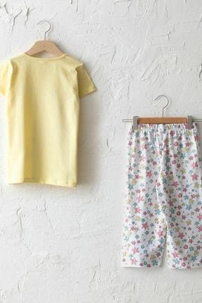 LC Waikiki Kız Çocuk Sarı Frn Pijama Takımı 1