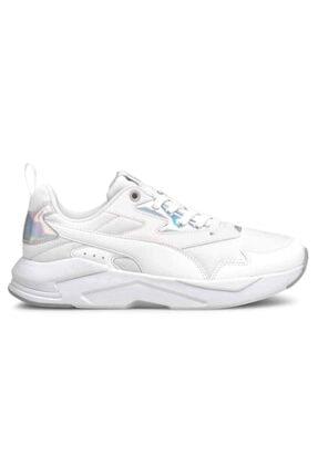 Puma X-RAY LITE METALLIC WMN Beyaz Kadın Sneaker Ayakkabı 101085449 0
