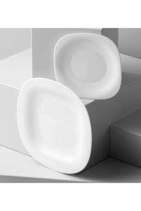 Luminarc Carine Blanc 6'lı Beyaz Pasta Tabağı 3