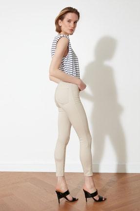 TRENDYOLMİLLA Taş Yüksek Bel Jegging Jeans TWOSS21JE0252 2