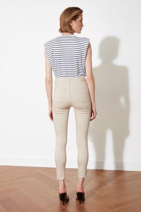TRENDYOLMİLLA Taş Yüksek Bel Jegging Jeans TWOSS21JE0252 4