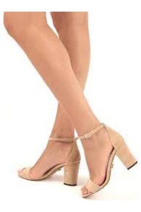 Vizon Süet Kadın Klasik Topuklu Ayakkabı klasik topuklu ayakkabı 000023