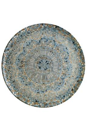 Bonna Porselen 12 Adet Porselen Düz Sunum Tabağı 19cm Luca 1