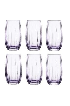 Paşabahçe 3'lü Lınka Mor Meşrubat Bardağı 420415 1