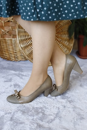 PUNTO Kadın Gündelik Klasik Topuklu Ayakkabı 1