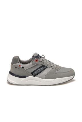 Kinetix Ranto Gri Erkek Kalın Taban Sneaker Spor Ayakkabı 1