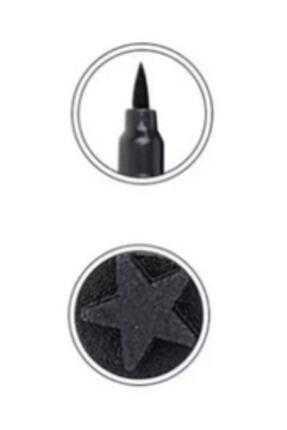 İki Yıldız Bir Tarafı Kalem Bir Tarafı Yıldız Baskılı Eyeliner 1