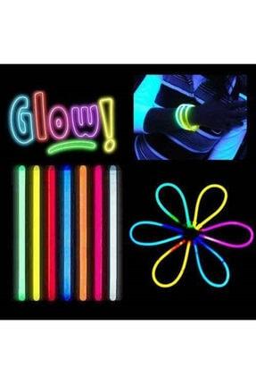 dnzstores Glow Stick Fosforlu Kırılan  Eğlence Çubuk 20 cm100 Adet 1