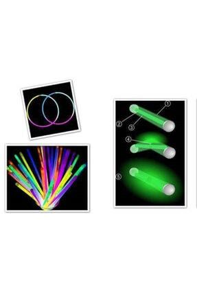 dnzstores Glow Stick Fosforlu Kırılan  Eğlence Çubuk 20 cm100 Adet 2