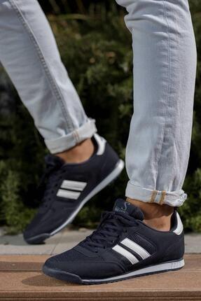 Muggo Erkek Lacivert Sneaker Ayakkabı Mgpalermo02 3