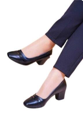 Siyah Klasik Topuklu Ayakkabı klasik topuklu ayakkabı 000029