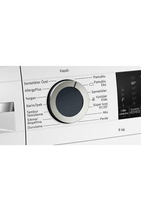 Bosch WGA142X1TR 9 Kg 1200 Devir Çamaşır Makinesi 2