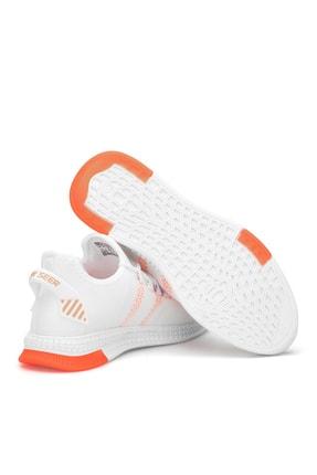 Dark Seer Beyaz Oranj Unisex Sneaker 2