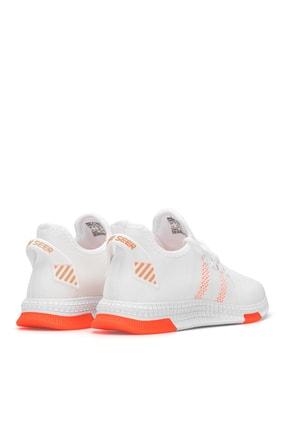 Dark Seer Beyaz Oranj Unisex Sneaker 3