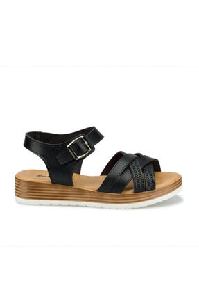 Polaris 315724.Z Siyah Kadın Sandalet 100508415 1