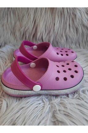 Akınalbella Kız Çocuk Lila Renk Crocs Terlik 2