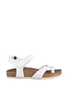Soho Exclusive Beyaz Kadın Sandalet 15922 3