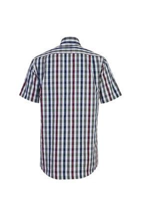 Kiğılı Kısa Kol Regular Fit Ekose Gömlek 1