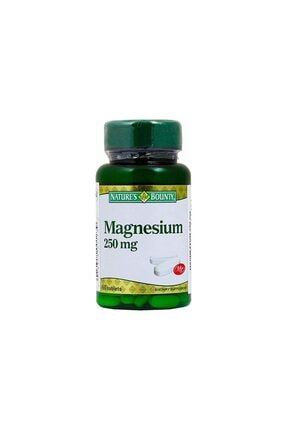 Natures Bounty Magnesium 250 Mg 60 Tablet 0