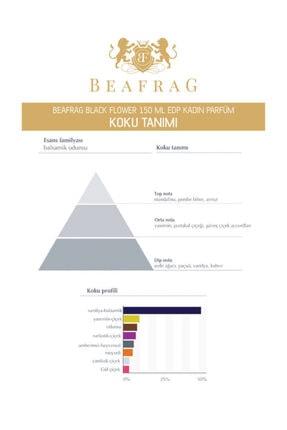 BEAFRAG Black Flower Edp 150 ml Kadın Parfüm 8682530232340 3