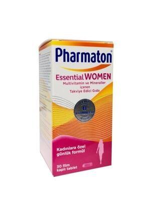 Pharmaton Essential Kadın Vitamin Mineral 30 Kapsül 0