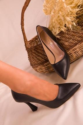 Soho Exclusive Siyah Kadın Klasik Topuklu Ayakkabı 16002 1