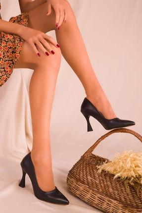 Soho Exclusive Siyah Kadın Klasik Topuklu Ayakkabı 16002 2