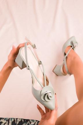 Soho Exclusive Mint Yeşil Kadın Klasik Topuklu Ayakkabı 15991 1