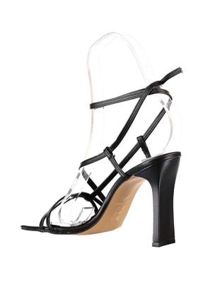 Soho Exclusive Siyah Kadın Klasik Topuklu Ayakkabı 15859 4