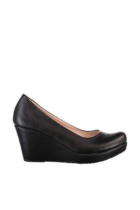 Soho Exclusive Siyah Kadın Dolgu Topuklu Ayakkabı 15849 2