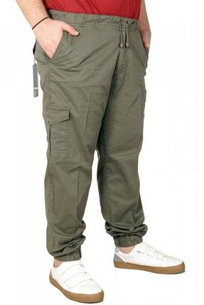 تصویر از شلوار سایز بزرگ مردانه خاکی