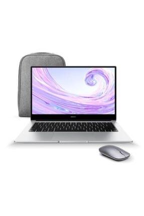 """Huawei Matebook D 14 AMD Ryzen 7-3700U 8 GB 512 GB SSD 14"""" W10 Taşınabilir Bilgisayar + Çanta ve Mouse 0"""