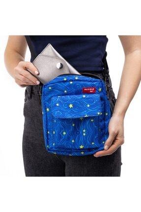 Yıldızlı Gece Desenli Unisex Çanta KD235