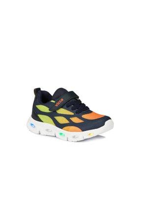 Vicco Erkek Çocuk Işıklı Lacivert Spor Ayakkabı 0