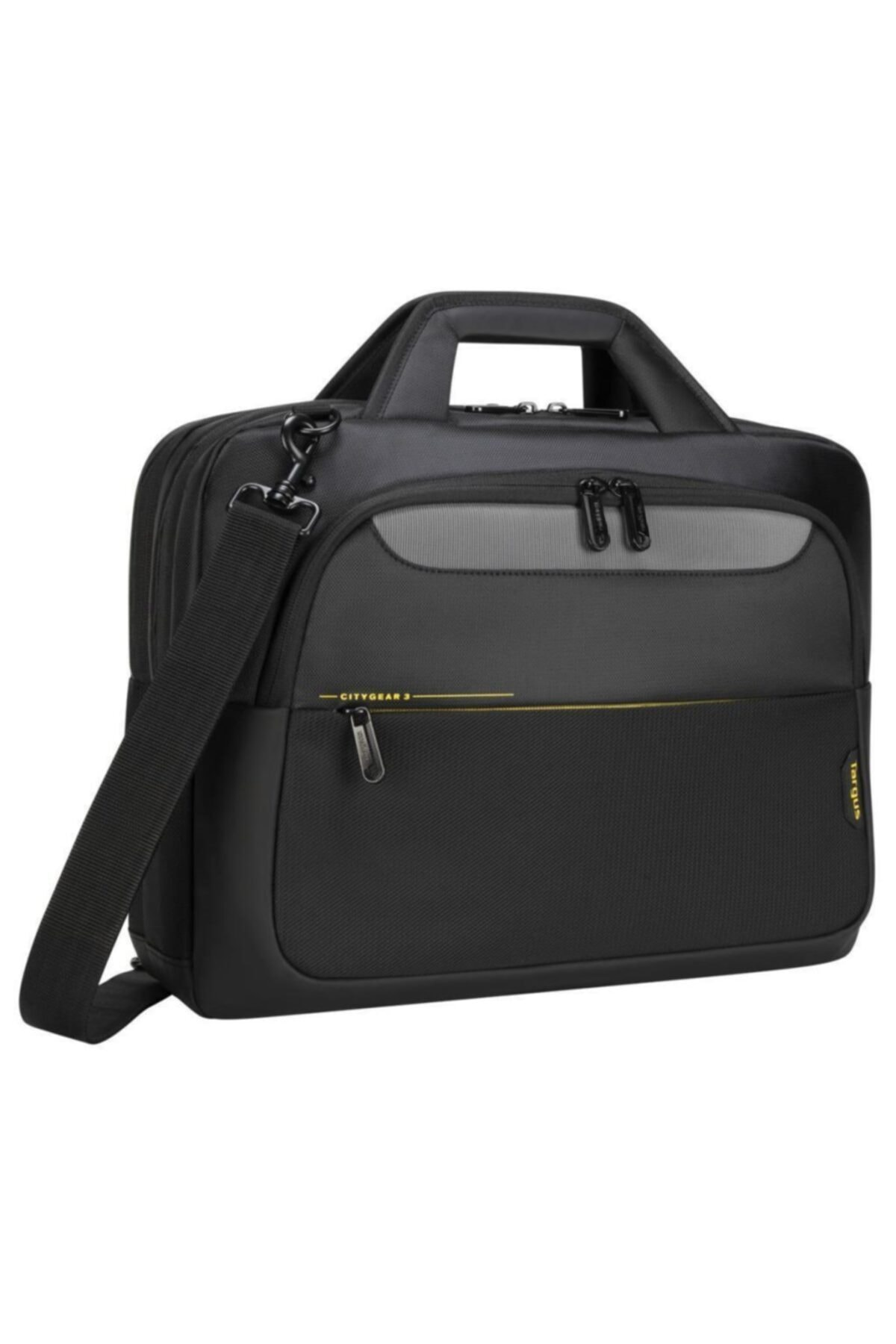 "Citygear 15-17.3"" Topload Laptop Case Black"