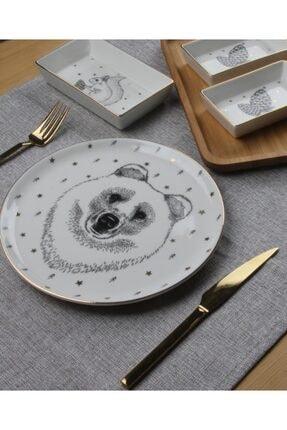 Porland Forest Bear 7 Parça 2 Kişilik Kahvaltı Takımı 1