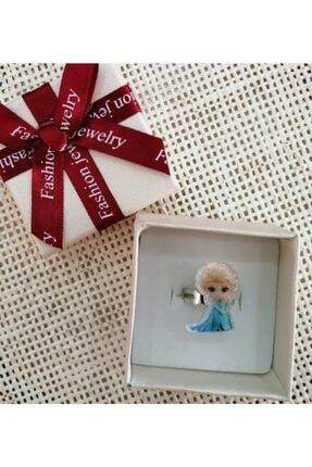 MirrorOYUNCAK Elsa Simli Çocuk Yüzüğü Parmağa Göre Ayarlanabilir 0