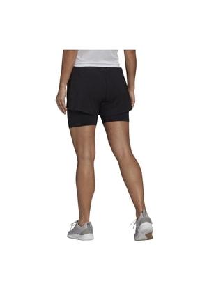 adidas W 2IN1 SHO Siyah Kadın Şort 101085736 1