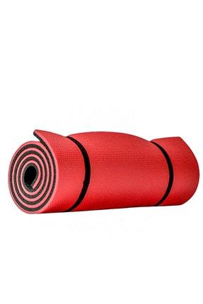 Voven Pembe Profesyonel Yoga Matı 10 Mm Pilates Minderi Pembe 0