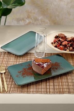 Keramika Zümrüt Kayık Tabak 33 Cm 2 Adet 3