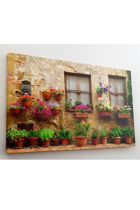 hanhomeart Alaçatı Pencere Kanvas Tablo 60x120 2